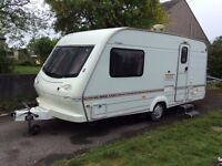 ***Elddis hurricane GTX 2 berth with full awning***