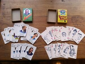 Vintage Card Games (Fortune Telling & Authors 1940's)