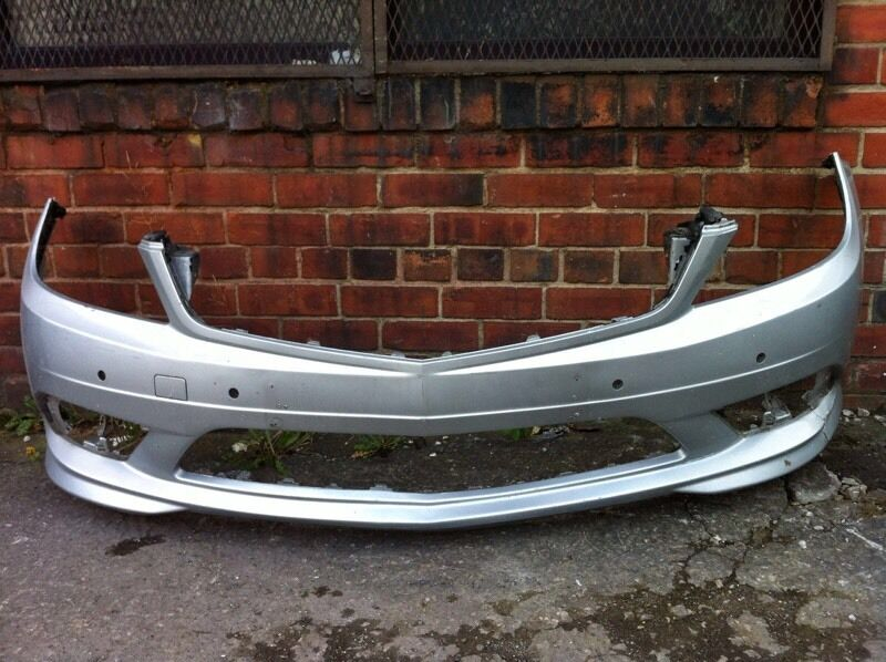 Mercedes c class AMG 2008 2009 2010 genuine AMG front bumper for sale