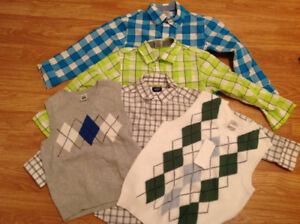 5t dress shirts and vests