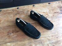 Men's, Carvela, Black Suede Loafers, Size 8 / 42