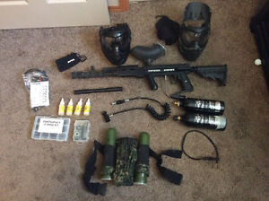 Tippman 98 Custom -- complete kit for playing