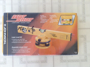 Johnson Hot Shot Laser level kit
