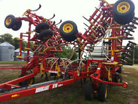 Bourgault 5710 Airdrill 54 ft. complete with Bourgault 5350 Cart