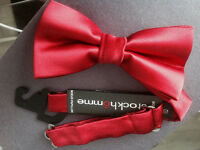Noeud papillon rouge / Red bow tie - Stockhomme