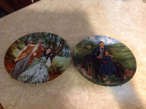 """4 """"Gone With The Wind"""" collector plates Peterborough Peterborough Area image 3"""