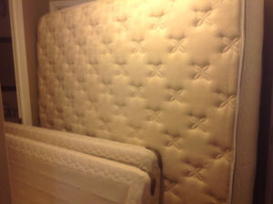 King size mattress and box spring for sale