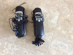 Two VTech corded phones