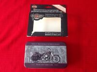 Harley Davidson 95th Anniversary Collector Tin and Playing Cards