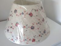 Brand New Laura Ashley Style Embroidered Lamp Shade