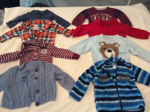 Boys 6 - 12 Month Clothing (over 96 items)