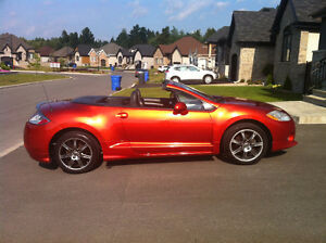 Mitsubishi Eclipse GT-P Spyder Convertible V6 2008