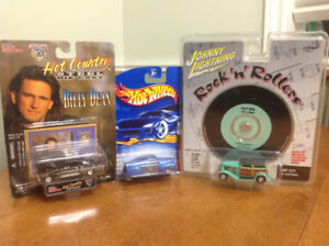 Collectable die cast cars