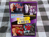 ALFRED HITCHCOCK 4-dvd COLLECTOR'S SET