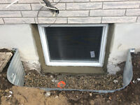 EGRESS WINDOWS INSTALLED , LEGAL AND COMPLIANT