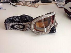 Genuine Oakley Crowbar Goggles MX Motorcross Enduro Snowboarding