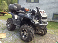 """2007 Suzuki 700 King Quad /Lifted/Clutched//Snorkled/28""""tires/!!"""