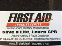 Emergency First Aid W/CPR Level C &a AED Certification Programs