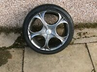 Ford Focus alloy wheels
