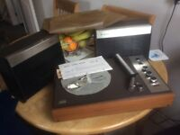 Boots/, Philips vintage portable record deck, complete.