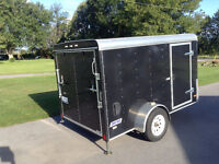 2011 Pace American Journey Cargo/Motorcycle Trailer