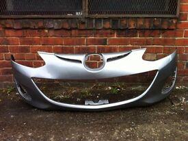 Mazda 2 facelift 2011 2012 2013 2014 genuine front bumper for sale