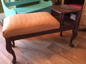 Telephone Table Bench