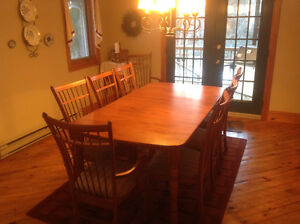Dining Room Table and China Cabnet