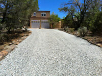 Driveway gravel, topsoil, sand, etc delivered and spread!!!