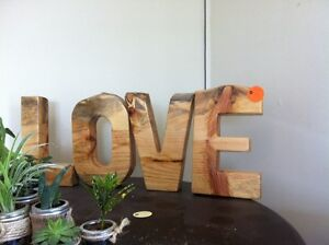 LOVE sign/letters