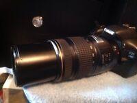 CANON EF IS USM 75-300mm ULTRASONIC IMAGE STABILISER AF ZOOM LENS