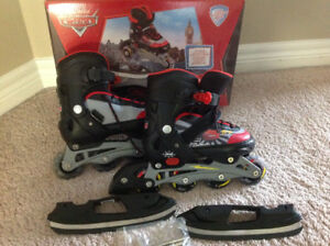 Disney Cars switcher skates adjustable size J12 - 2