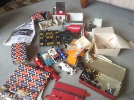 Vintage Scalextric collection