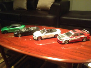 1/18 diecast cars clearout