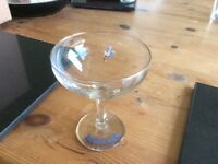 1x babycham glass