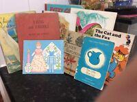 Vintage children book bundle