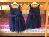 2 x girls dresses (party or bridesmaid)