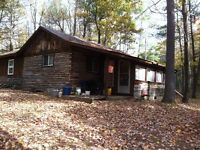 90 acres With Cabin