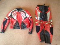 Motorcycle jacket and trousers ladies