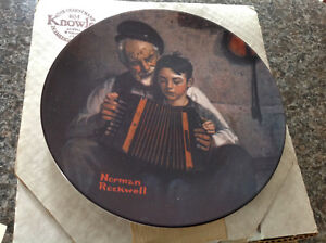 Bradford Exchange Norman Rockwell Music Makers Plate