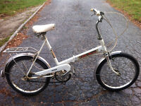 very cool - vintage Auto-Mini Executive 3 speed folding bike