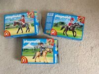 Playmobil horses 5110,5111 and 5112