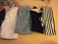 Lovely bundle of lady's clothes size 8 next Zara topshop guess river island hollister