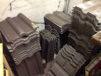 Spare roof tiles, 91pcs (House sale clearance)