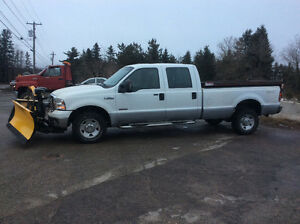 2006 F 350 6.0 turbo diesel 152 kms auto NO PLOW mvi'ed $11000.0