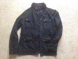 Mens linea military jacket size medium