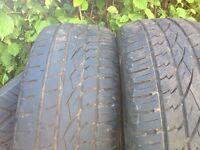 BMW X5 tyres 225/50/19 x3