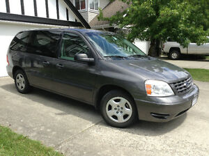 2005 Ford Freestar Gray Minivan, Van