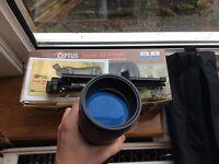 WILDLIFE SCOPE Optus zoom 20 x 60 x 60 with table tripod