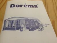 Dorema caravan awing